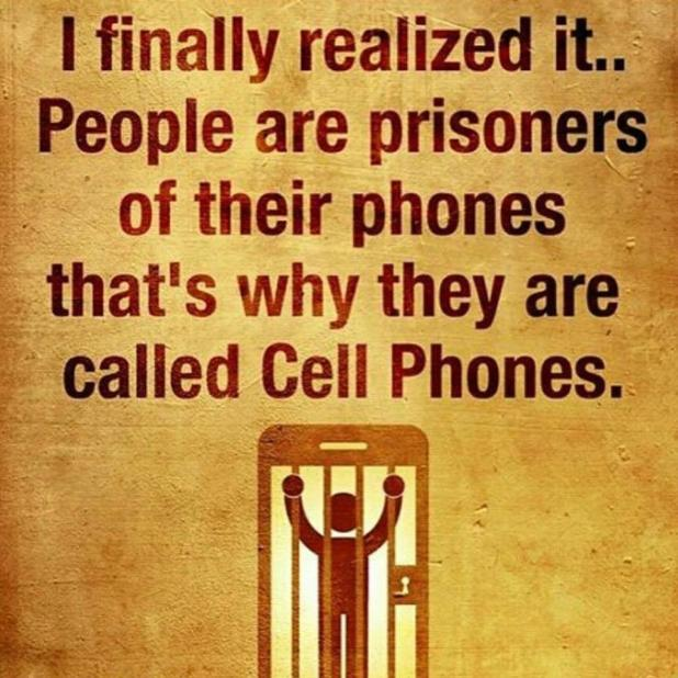 on cellphones