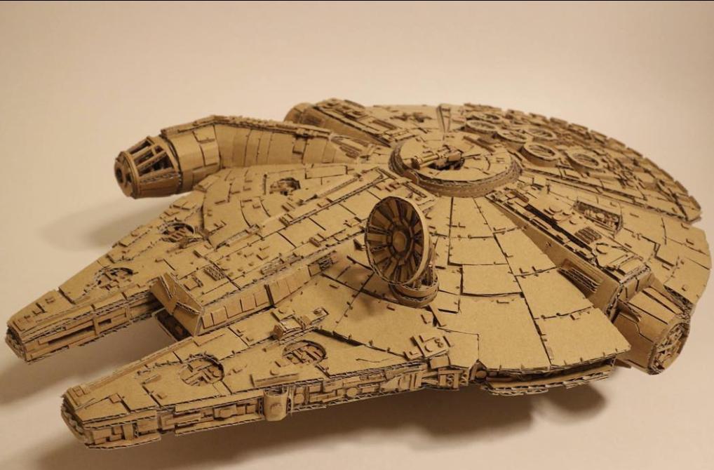 ship from cardboard